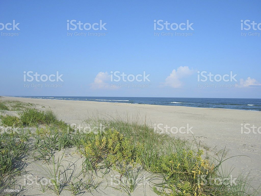 Outerbanks National Shoreline stock photo
