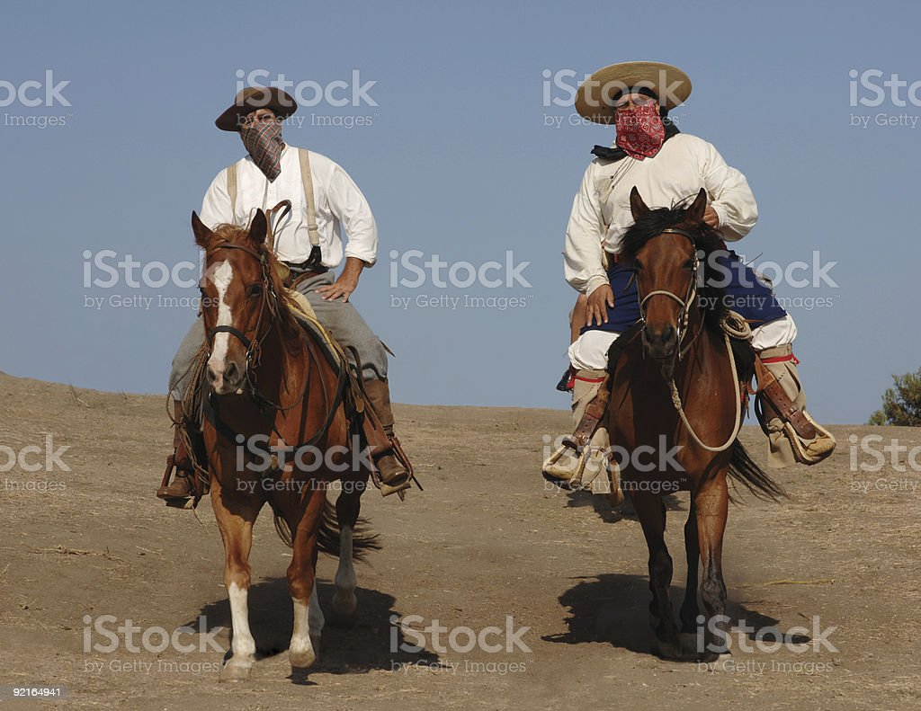 Outlaws royalty-free stock photo