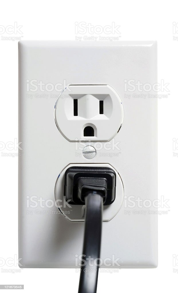 outlet 2 royalty-free stock photo