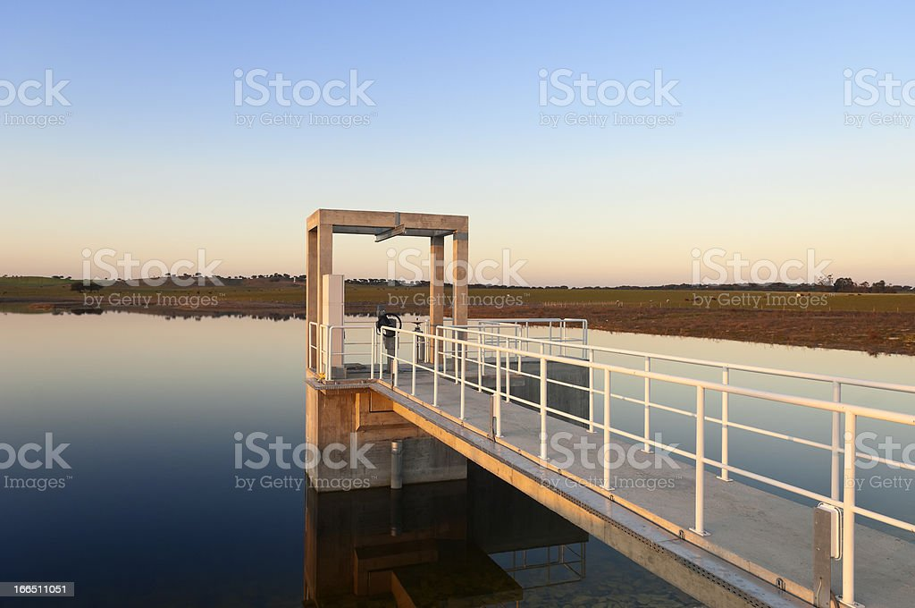 Outlet tower royalty-free stock photo