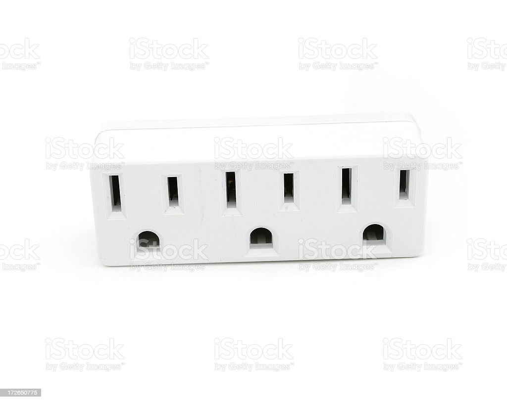 Outlets stock photo