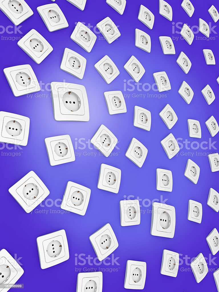 Outlets royalty-free stock photo