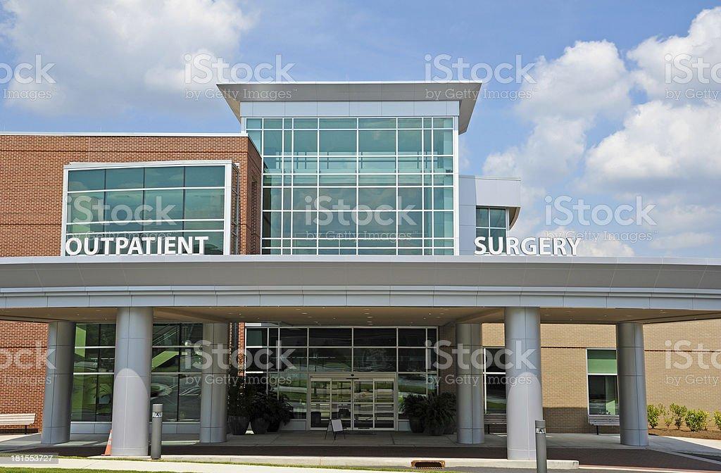 Outpatient Surgery Center stock photo
