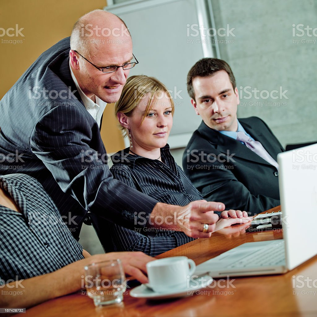 Outraged Manager royalty-free stock photo