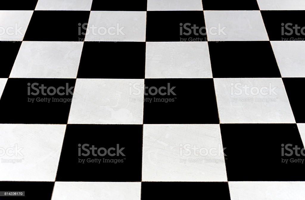 Outside Chess Board stock photo