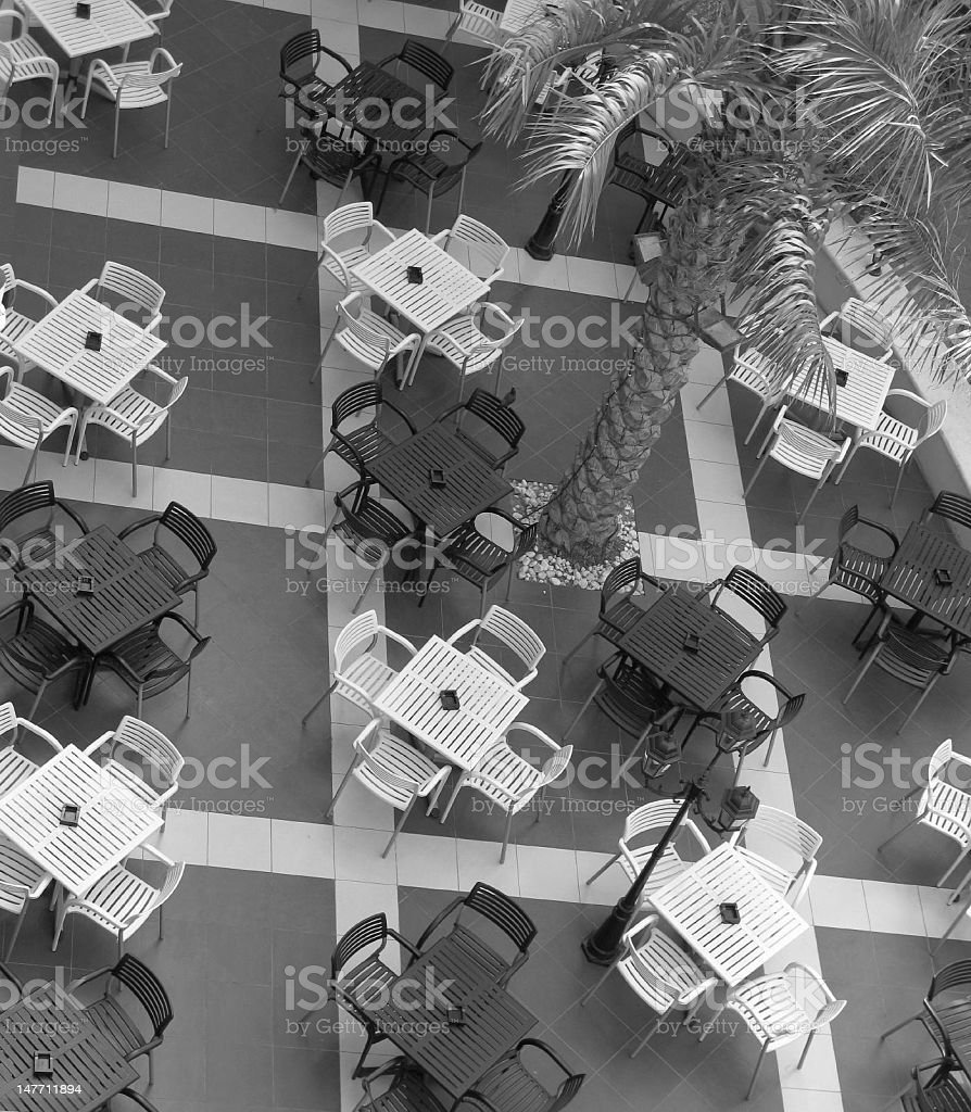 Outside Restaurant royalty-free stock photo
