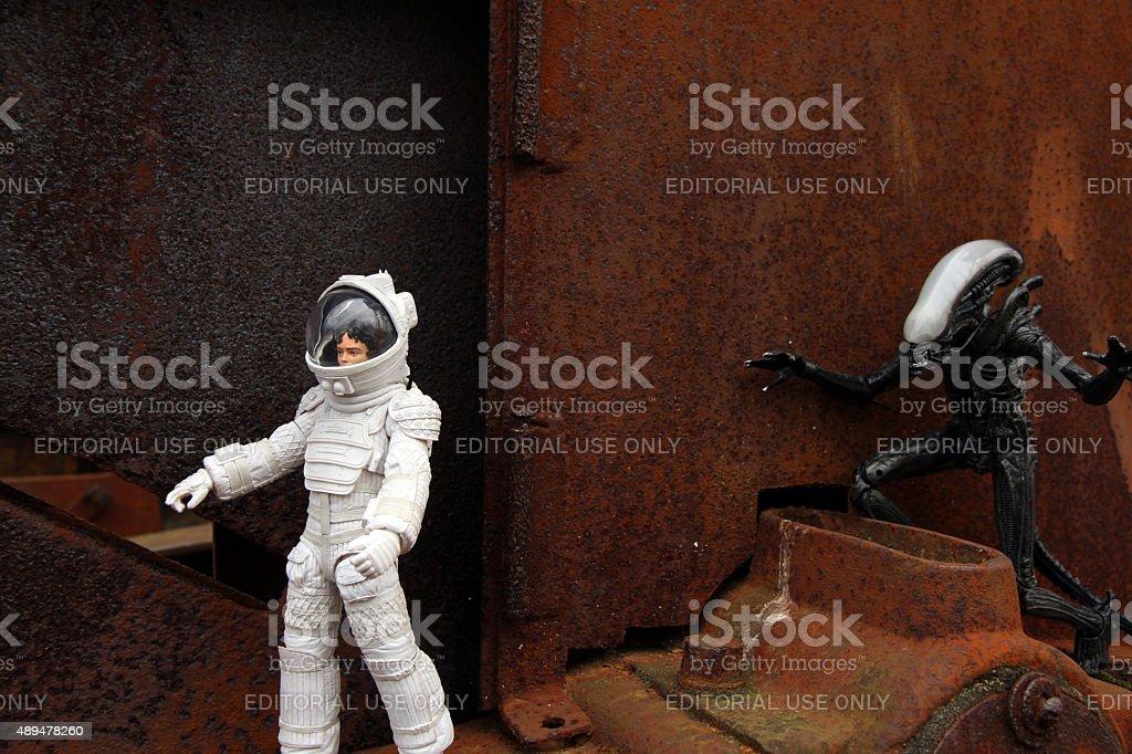Outside the Ship stock photo