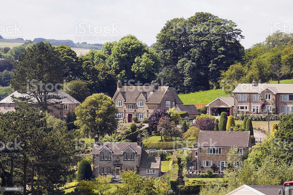 Outskirts of Bakewell royalty-free stock photo