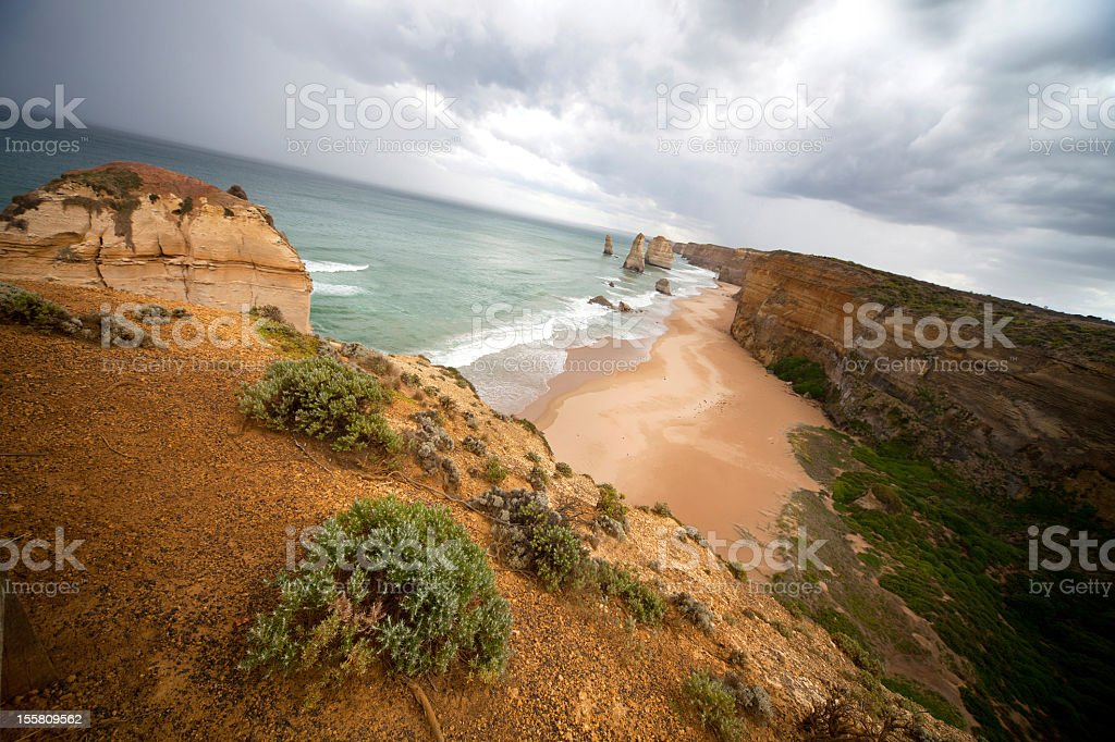 Outstanding australian landscape, 12 Apostles royalty-free stock photo
