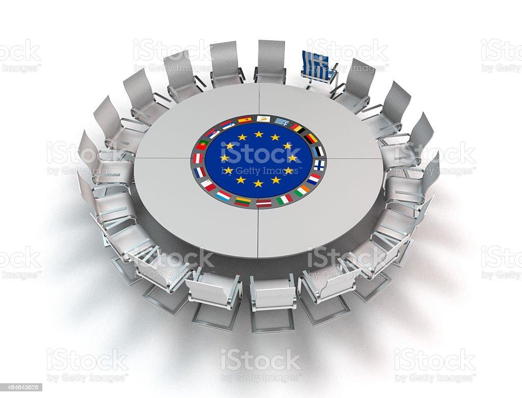 outstanding greece stock photo