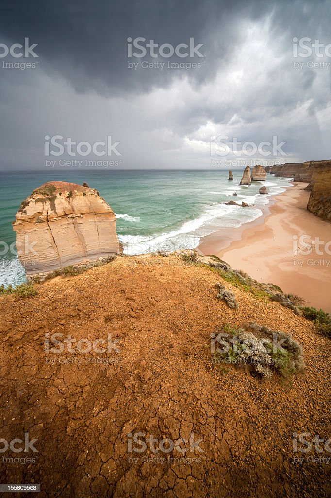 Outstanding landscape, 12 Apostles royalty-free stock photo