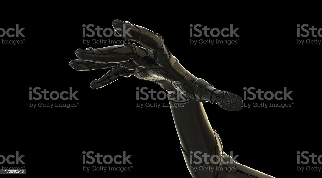 Outstretched hand royalty-free stock photo