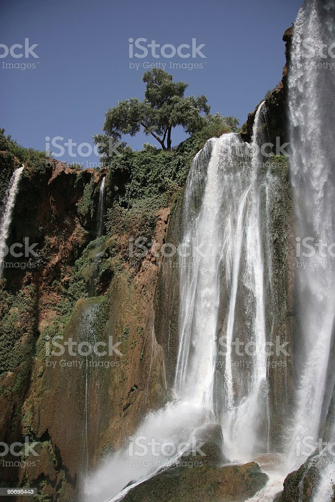 ouzoud falls stock photo