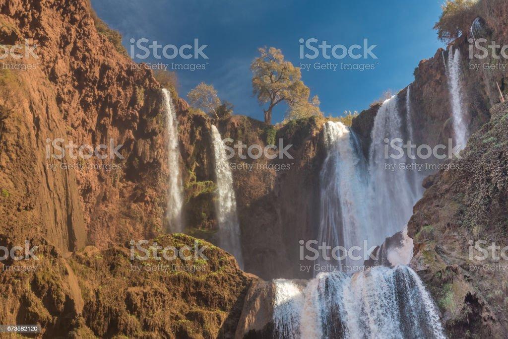 Ouzoud Waterfalls, High Atlas, Morocco stock photo