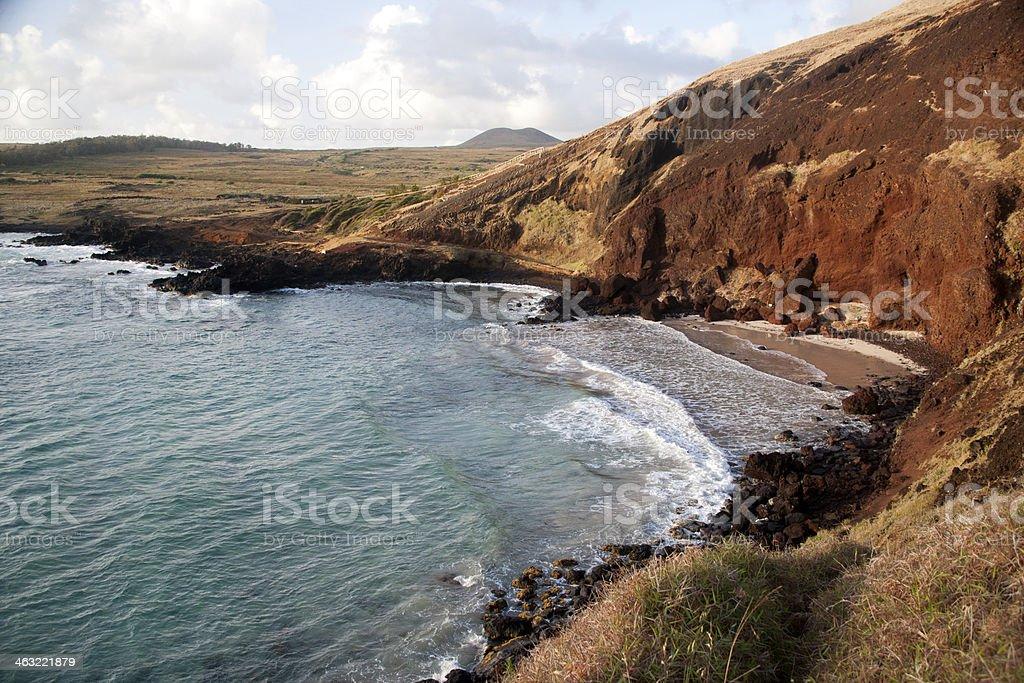 Ovahe Beach Morning royalty-free stock photo