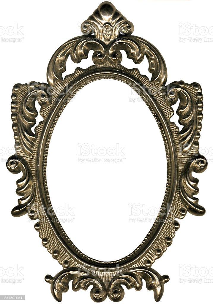 Oval Frame. stock photo