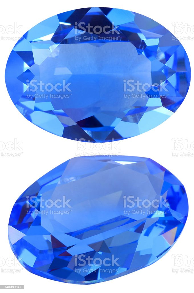 Oval gem royalty-free stock photo