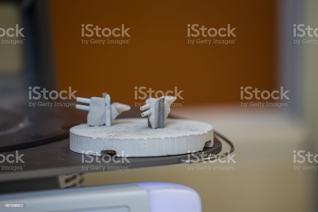 oven and press for dental prostheses stock photo