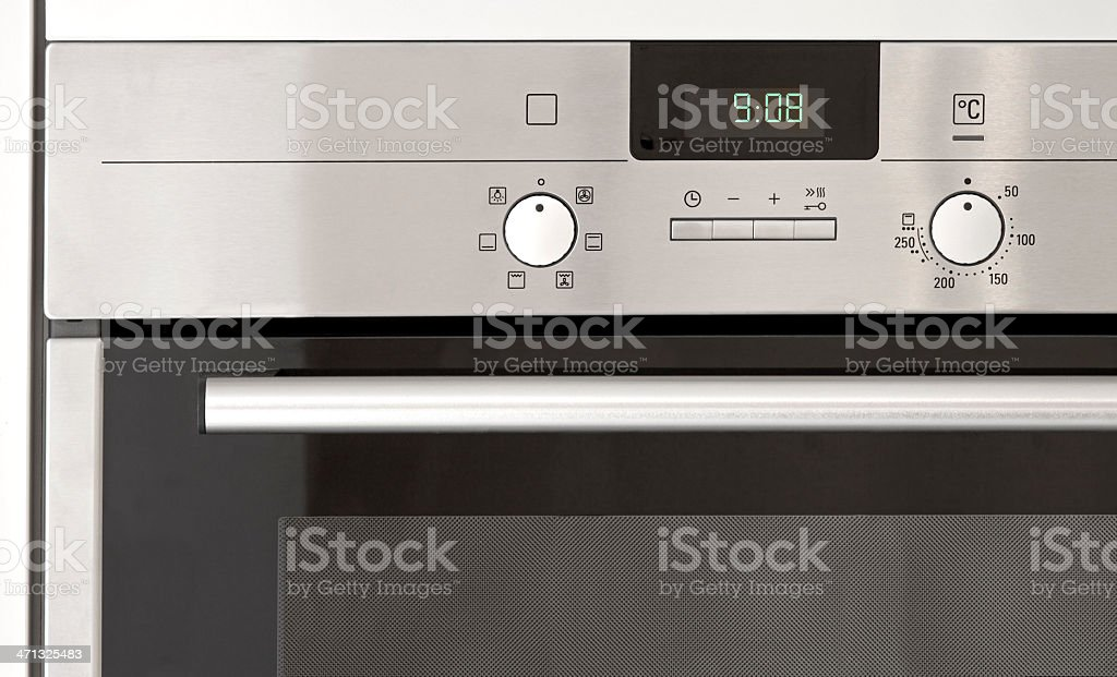 oven detail stock photo