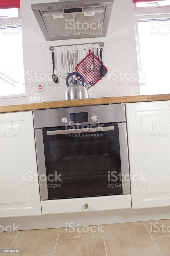 Oven In A Modern Kitchen stock photo