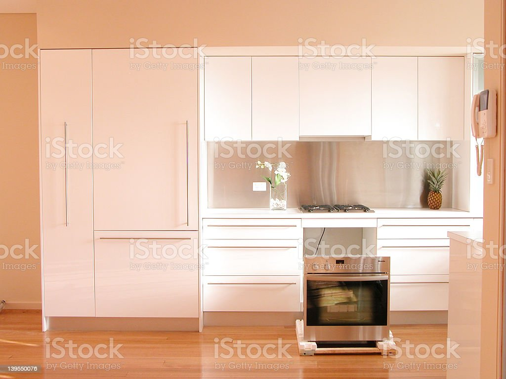 Oven installation 2 royalty-free stock photo