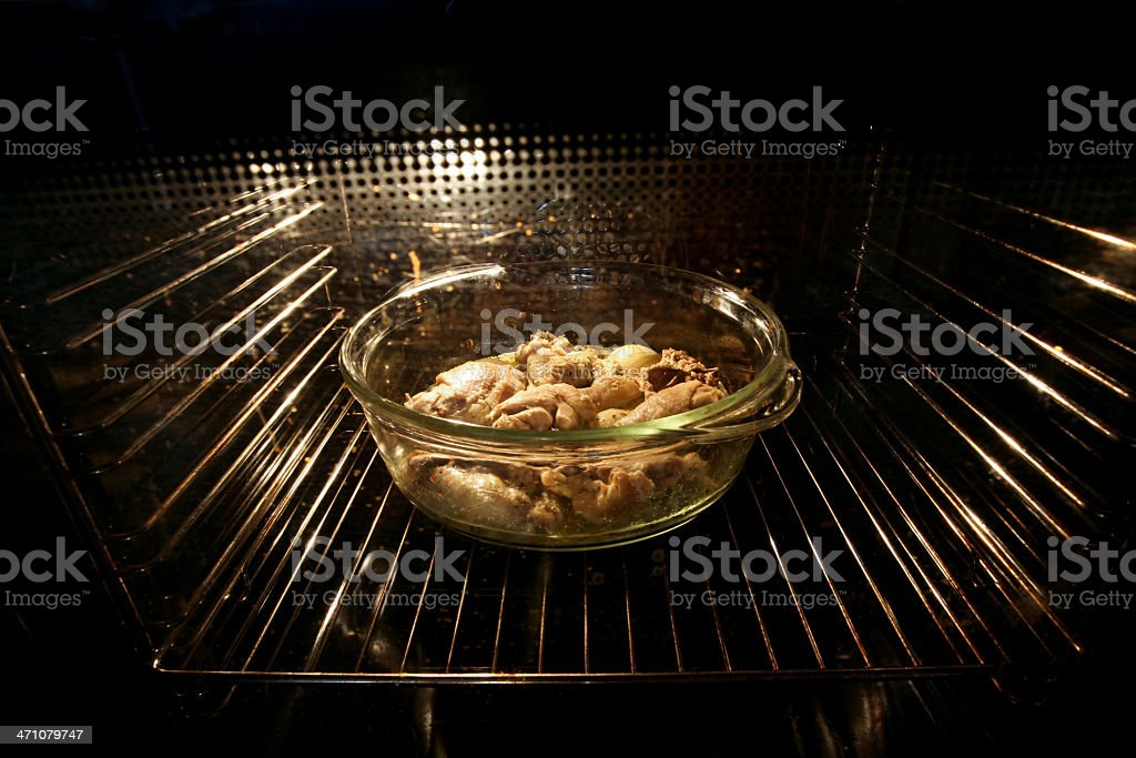 Oven interior royalty-free stock photo