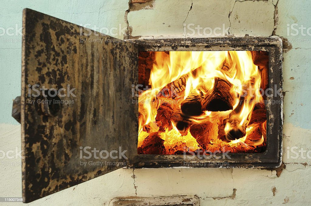 Oven mouth royalty-free stock photo