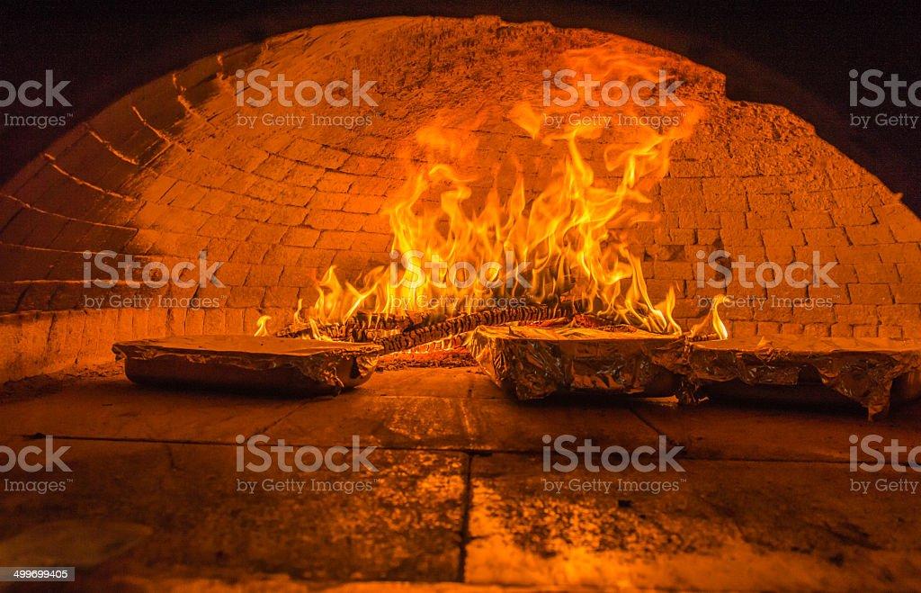 Oven stock photo