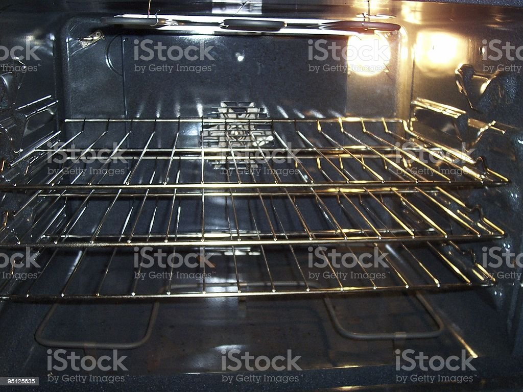 Oven Racks stock photo