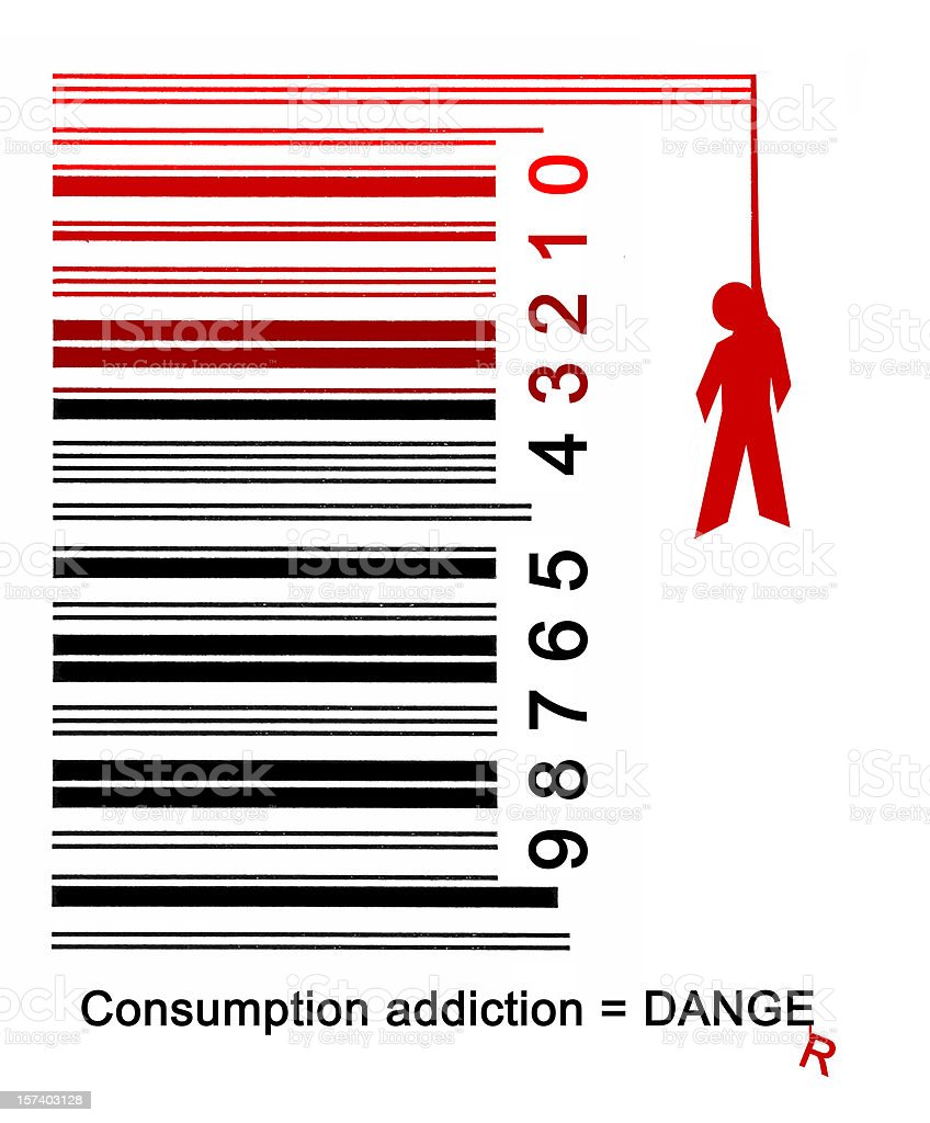 Over consumption danger #2 royalty-free stock photo