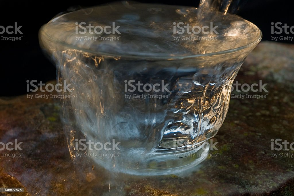 Over Flowing Water royalty-free stock photo