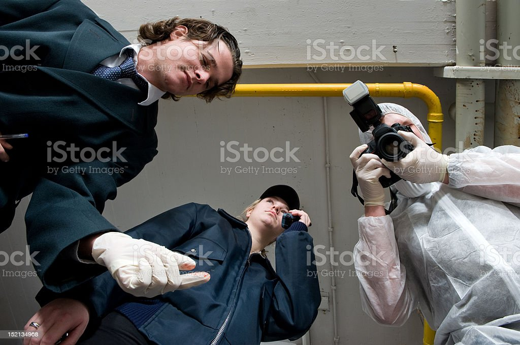 Over my dead body stock photo
