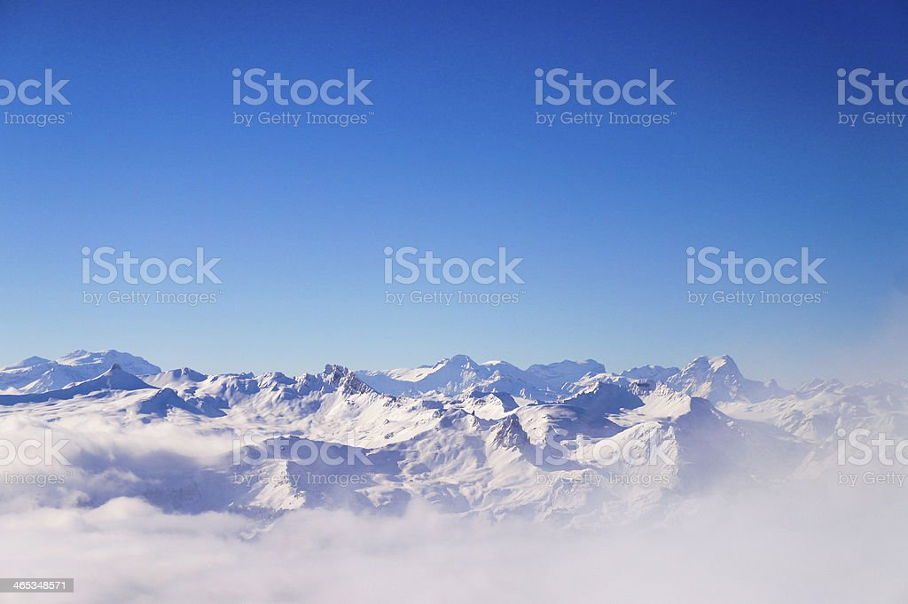 Over the Clouds 2 royalty-free stock photo