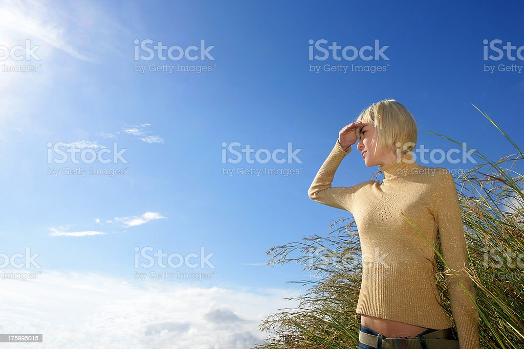 Over the clouds... royalty-free stock photo