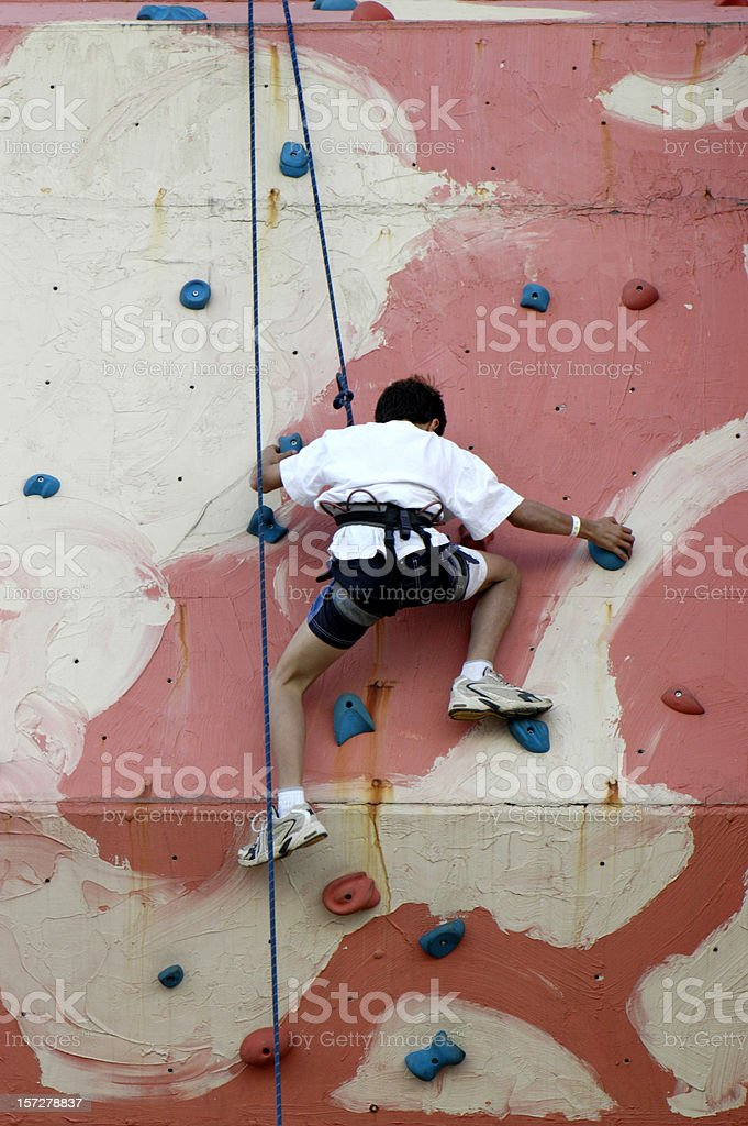 Over the edge royalty-free stock photo