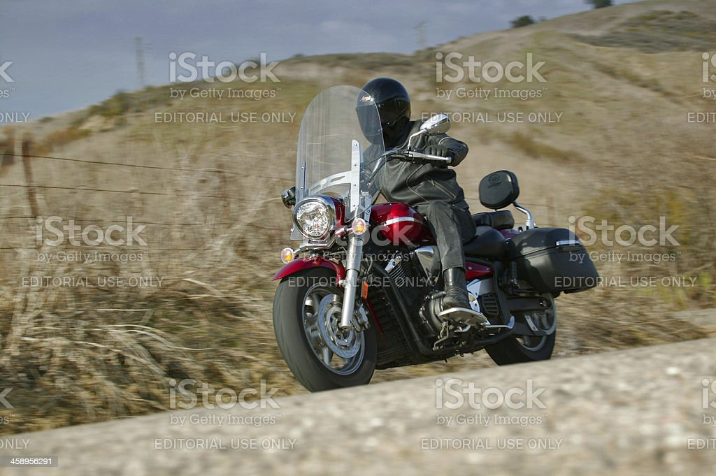 Over the hills ride royalty-free stock photo
