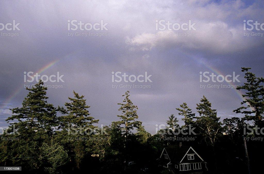 Over the Rainbow royalty-free stock photo