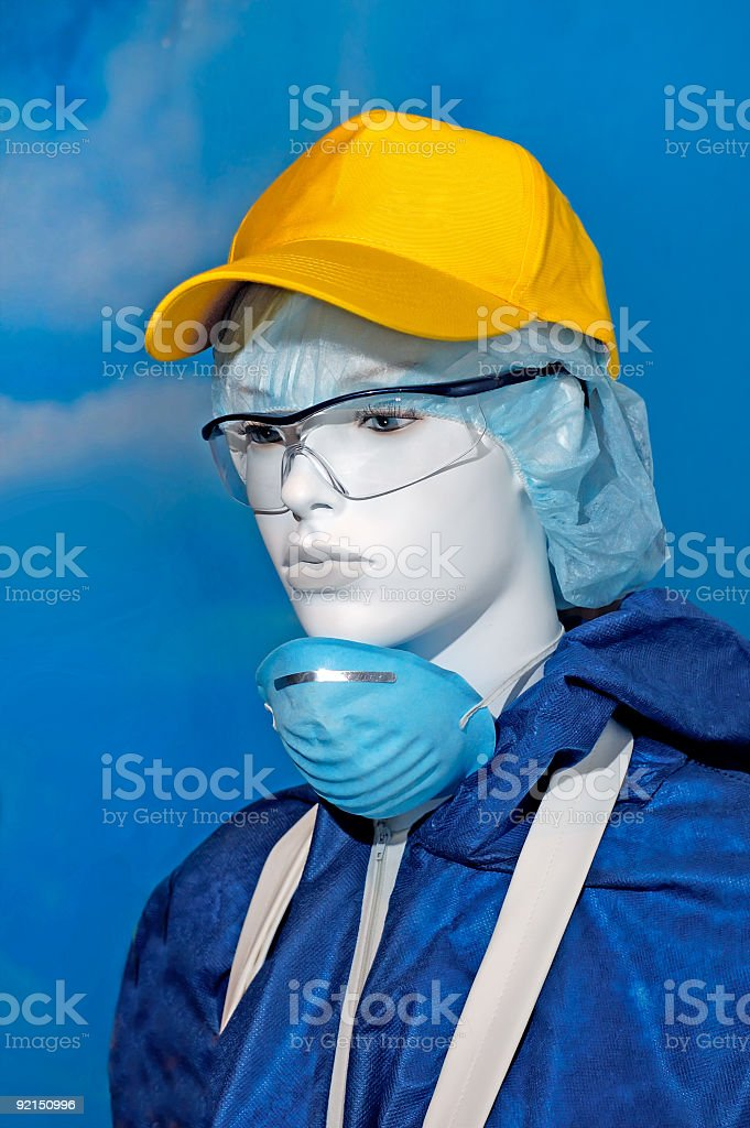 Overalls protective clothes royalty-free stock photo