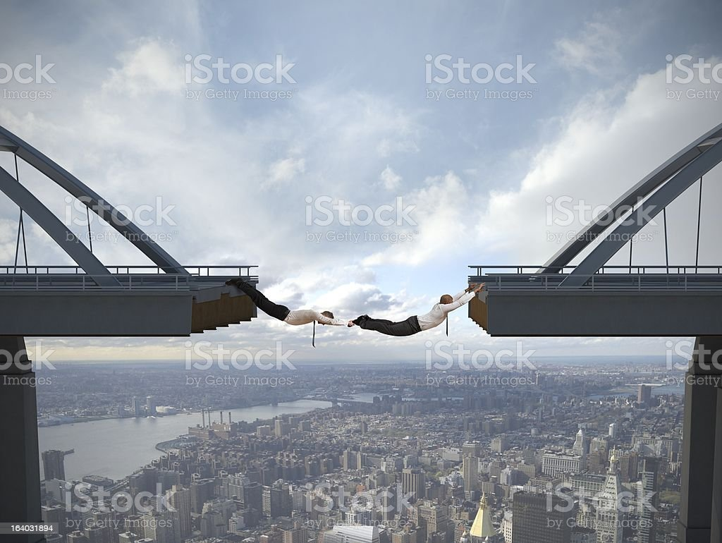 Overcome the problems stock photo