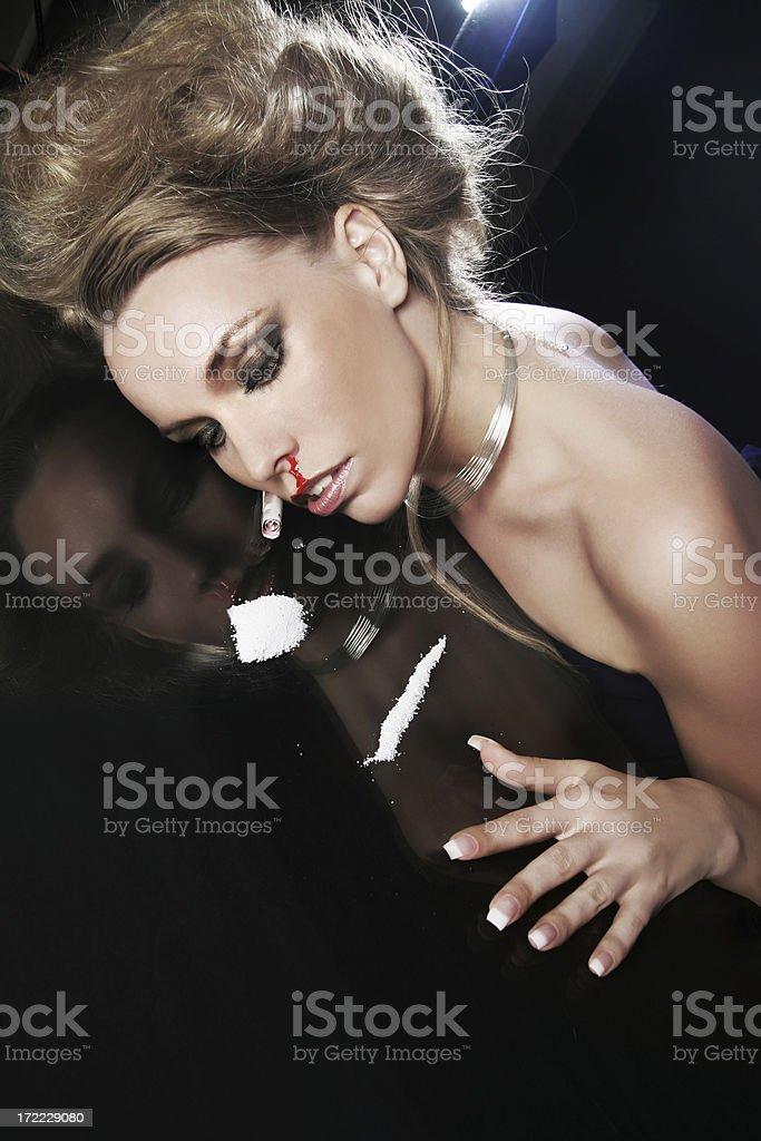 overdose royalty-free stock photo