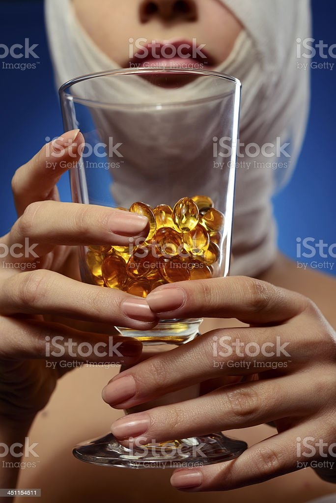 overdose royalty-free stock photo