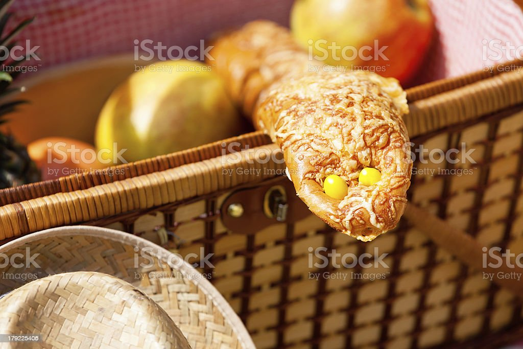 Overeating can be dangerous royalty-free stock photo