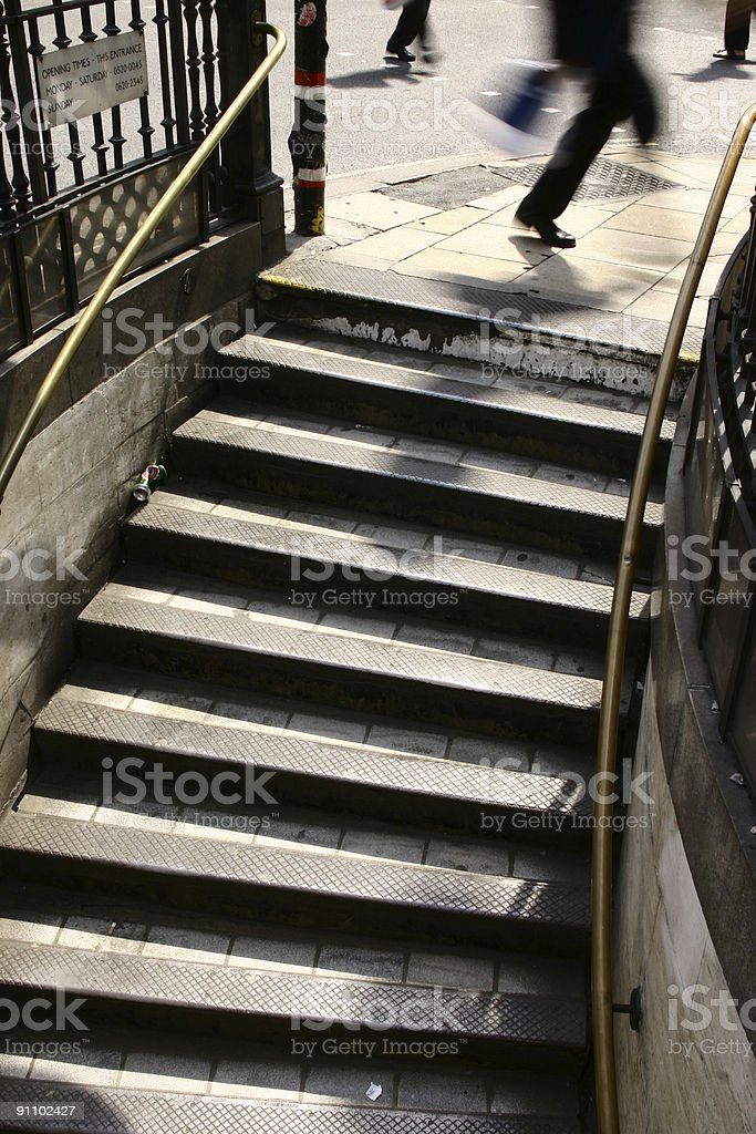 overground rush royalty-free stock photo