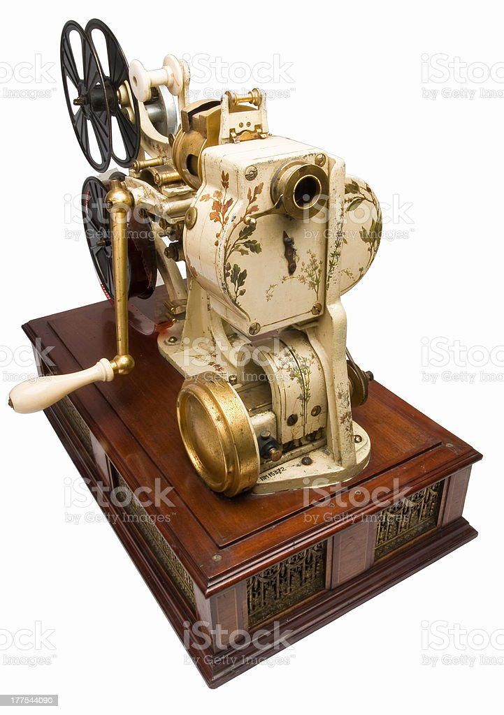 Overhead Projector royalty-free stock photo