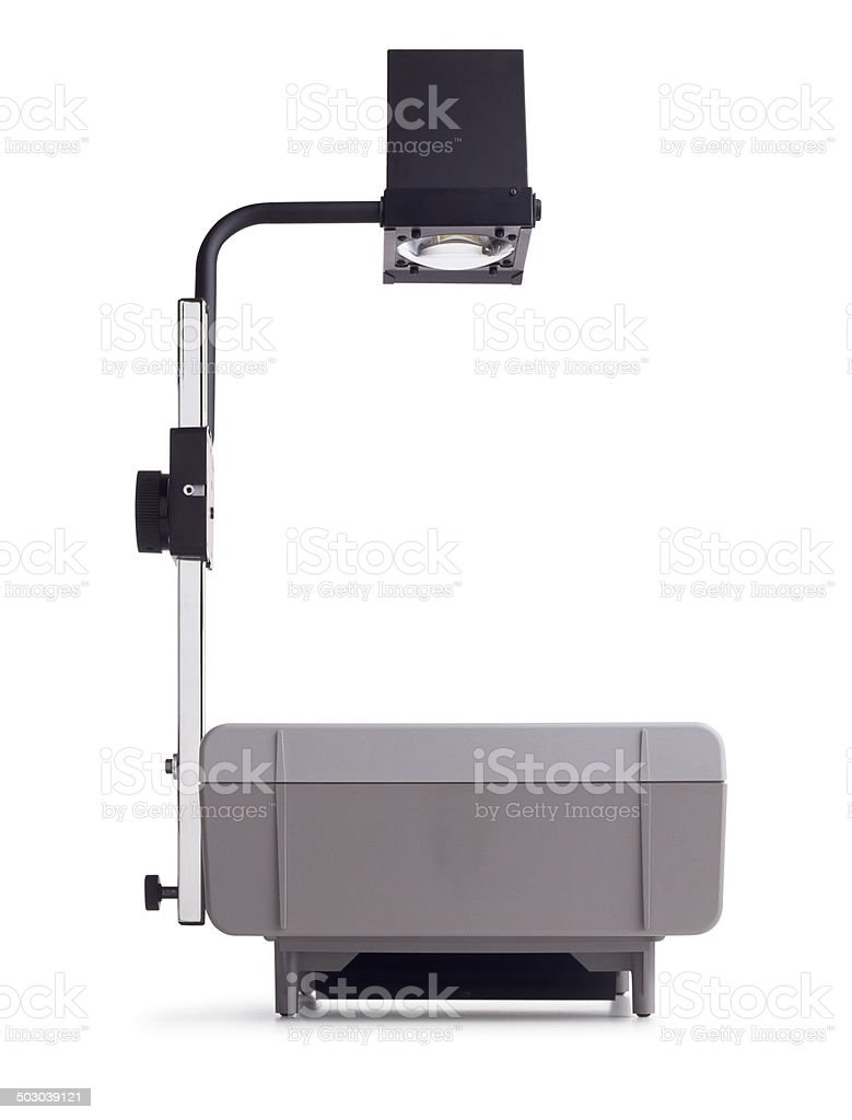 Overhead Projector stock photo