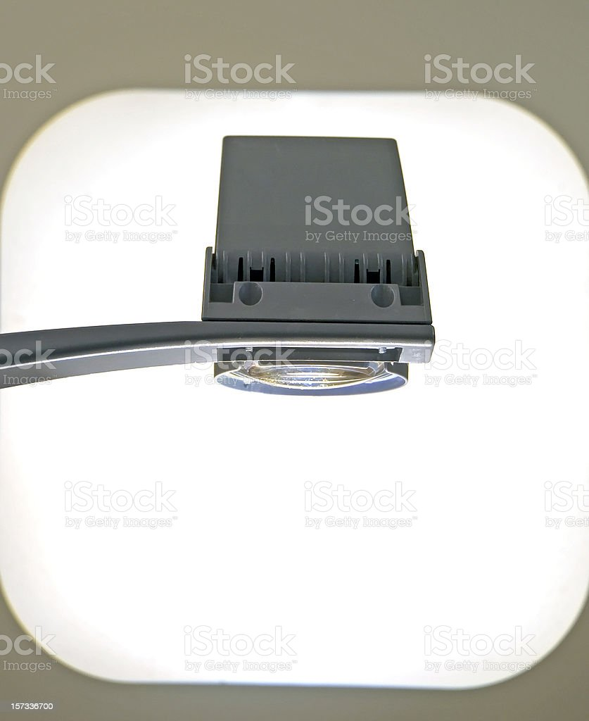 Overhead Projector With Copy Space Two royalty-free stock photo