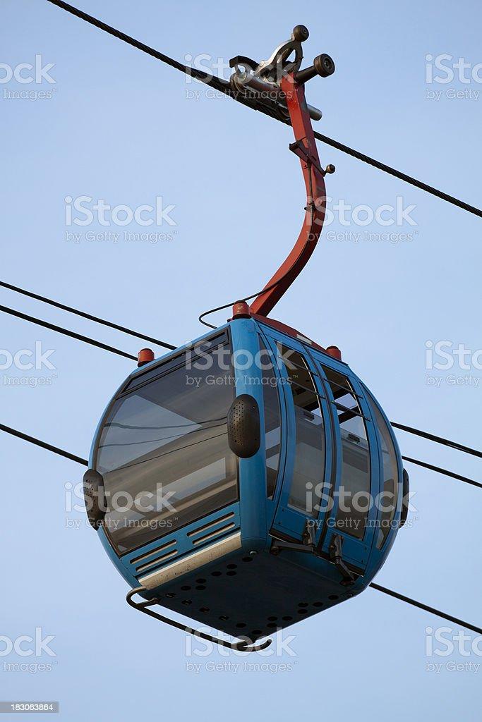 Overhead Ski Lift royalty-free stock photo