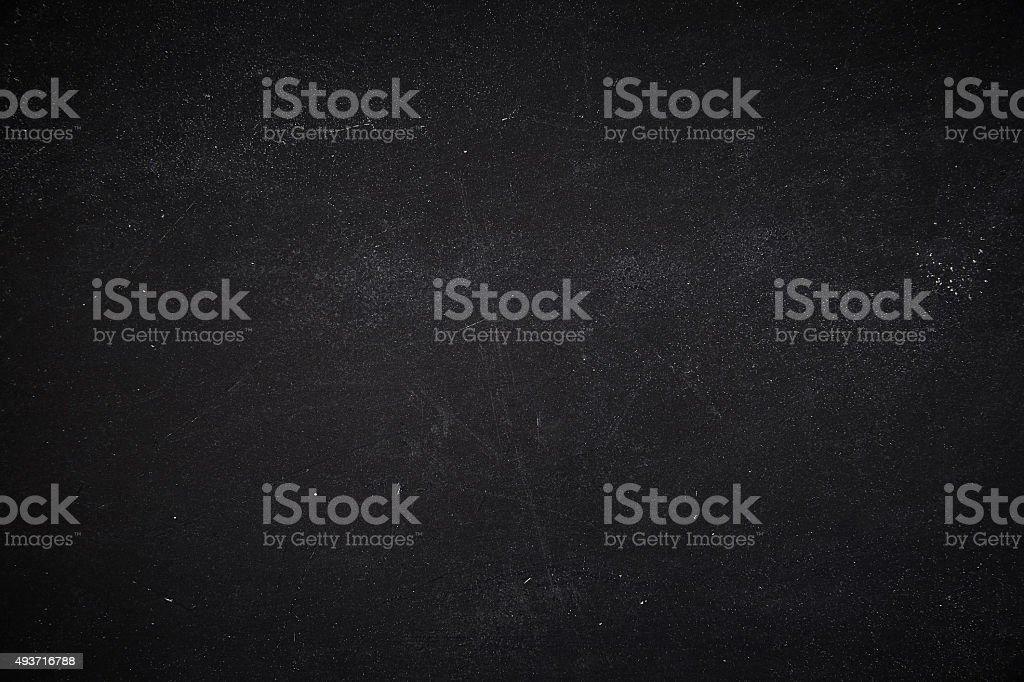 Overhead view of dark black stone surface stock photo