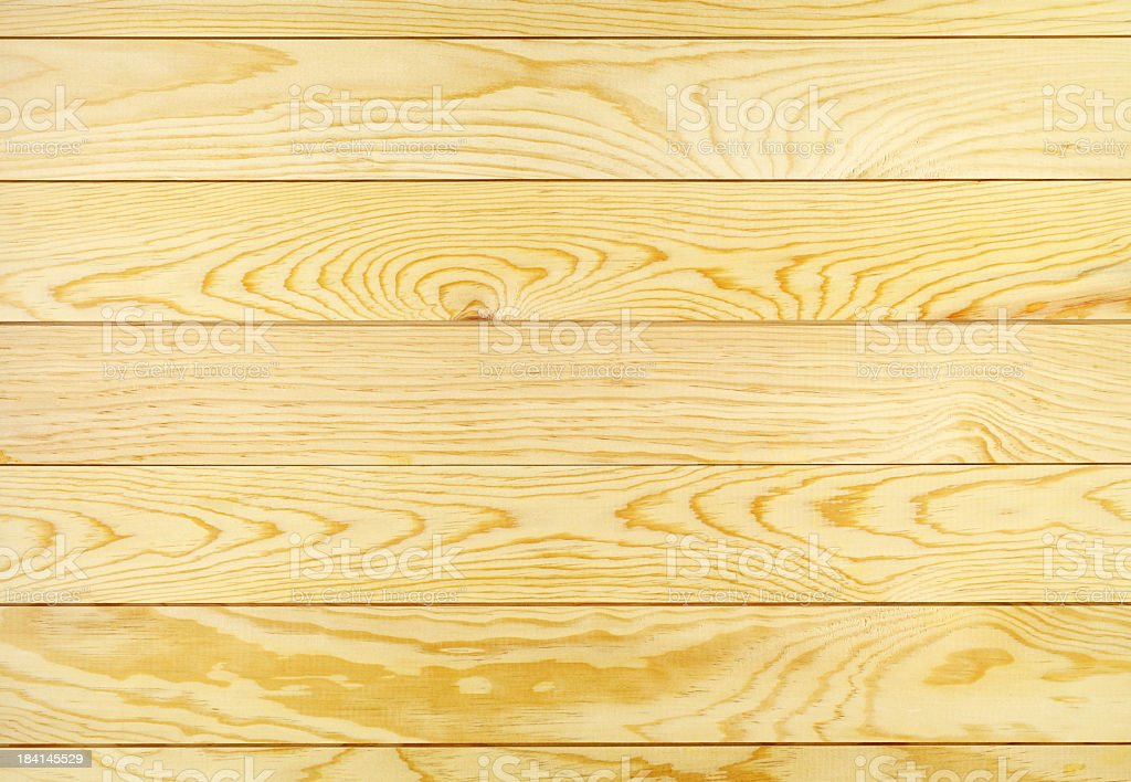 Overhead view of light brown wooden table royalty-free stock photo
