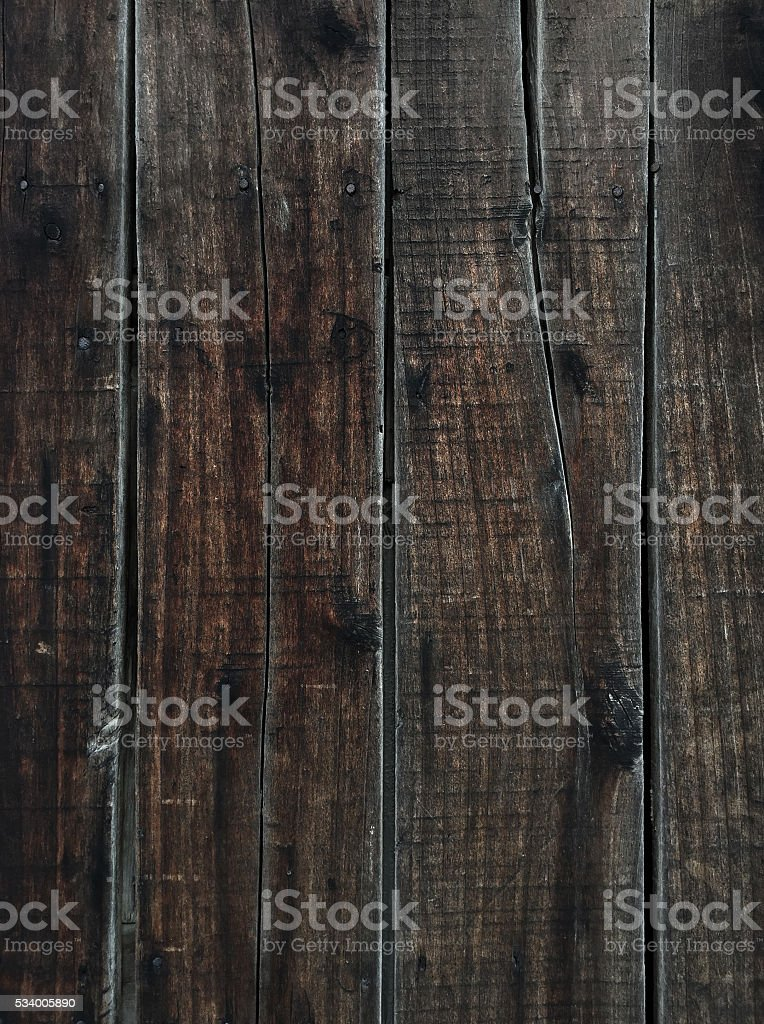 Overhead view of  wooden table stock photo